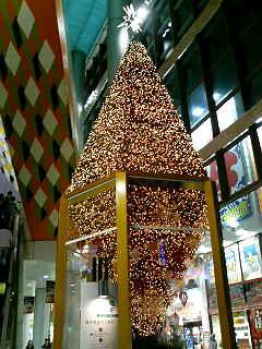 クリスマスへ向かう街